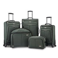 American Tourister 5-Piece Spinner Luggage Set $99.99