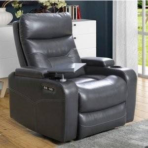 Amy Power Theater Recliner w/ Power Headrest