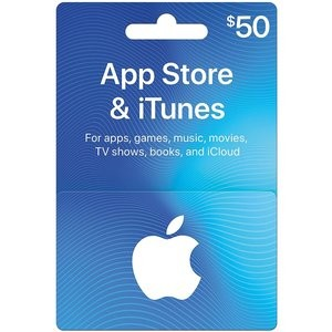 App Store & iTunes Gift Cards (Email Delivery)