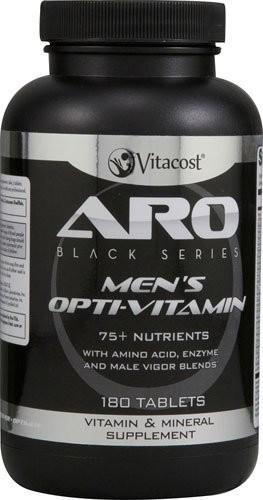 ARO Men's Multivitamin 8 MONTH SUPPLY multi vitamin  -  Vitacost $34.17 shipped