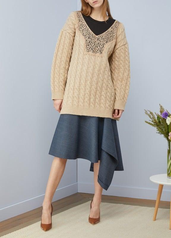 Balenciaga Sale: Oversized sweater BEIGE 70% off