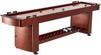 Barrington 9 Ft. Wood Shuffleboard Table w/ Wine Rack