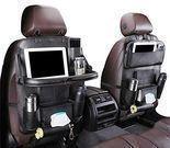 Beebeerun Car Back Seat Organizer w/ Foldable Table Tray