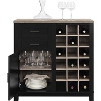 Better Homes and Gardents Langley Bar Cabinet $99