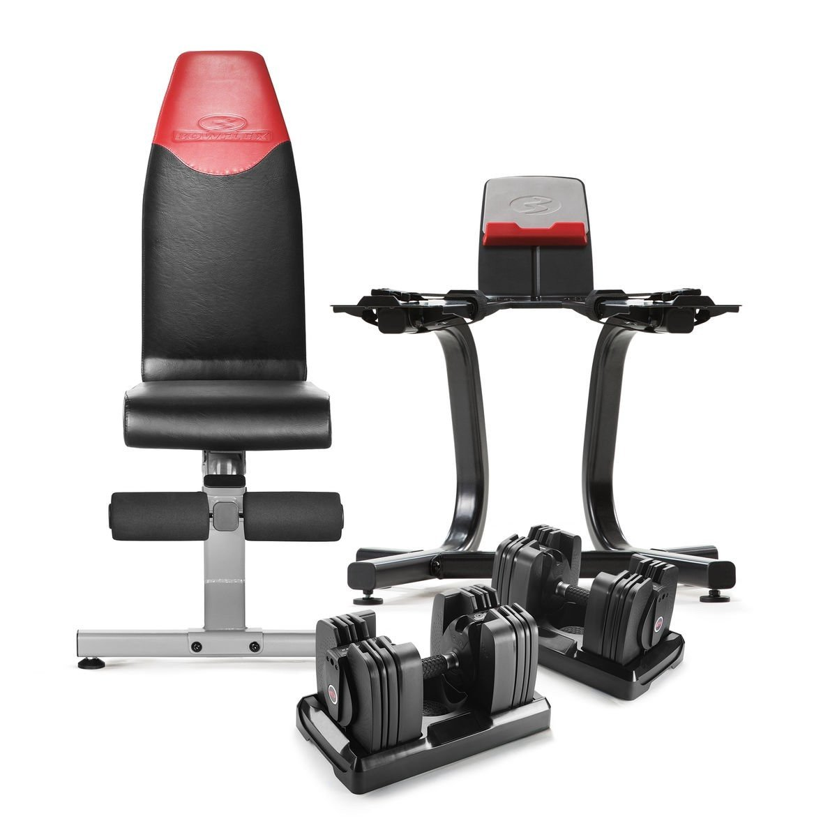 Bowflex Selecttech 560 Dumbbells, 4.1 Bench, and Stand for $599