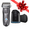 Braun Series 7 7865cc Men's Electric Foil Shaver, Wet and Dry Razor w/ Clean & Charge Station for $106, More