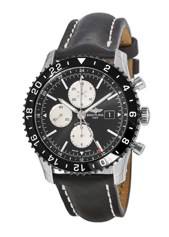 Breitling Chronoliner Ceramic Pilots COSC Automatic Chronograph GMT Watch $3999 + free s/h