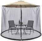 Bug Net Screen Accessory for 9ft Patio Umbrella