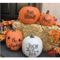 Buy 1 Get 1 Free Pumpkin Decals