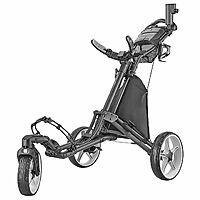 CaddyTek 3-wheel Golf Cart w/ Swivel Front Wheel $109.98