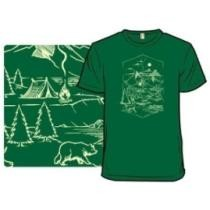 Canadian Forest by Tobe Fonseca T-Shirt Now $15
