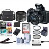 Canon EOS M50 Mirrorless Camera w/ 15-45mm STM Lens Black W/Pc Free Acc Bundle $599, More