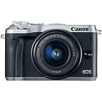 Canon EOS M6 Mirrorless Digital Camera w/ 18-150mm Lens (Holiday Savings) $449