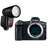 Canon R Mirrorless Digital Camera + Flashpoint Zoom Li-On X TTL Speedlight