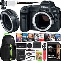 Canon R Mirrorless Digital Camera + Mount Adapter + Sling Backpack + Corel Paint Shop Pro 2019 $1499 + free s/h