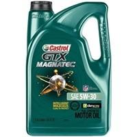 Castrol GTX MAGNATEC 5W-30 Full Synthetic Motor Oil 5 Quarts $15.91