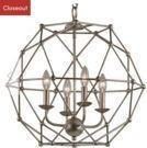 Cavanagh 4-Light Geometric Chandelier