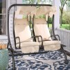 Charlton Home Northbrook Porch Swing w/ Stand