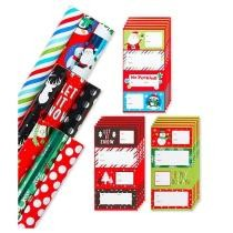 Christmas Wrapping Paper & Gift Tag Variety Set Now $29.99 + Free Shipping