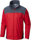 Columbia Mens OutDry Hybrid Jacket (Mountain Red/Graphite)