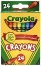Crayola Crayons Pack Of 24 Assorted Colors
