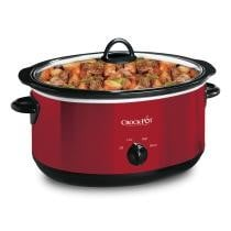 Crock-Pot® 6-Quart Manual Slow Cooker w/ Travel Strap, Red by Crock-Pot