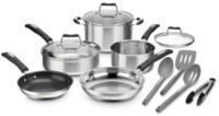 Cuisinart Stainless Steel 12-Pc. Cookware Set