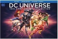 DC Universe 10th Anniversary Collection Blu-Ray Set