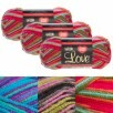 Deal Genius: Select 3-Pack Yarn Skeins (Lion Brand, Caron or Red Heart) for $7.65