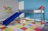 DHP Junior Twin Metal Loft Bed