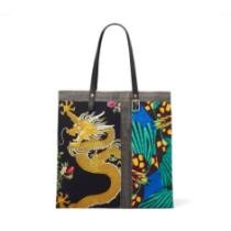Dragon & Butterfly Collage Tote Now $235