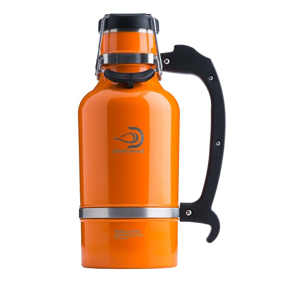 DrinkTanks® 64 oz Insulated Growler – Pumpkin Spice