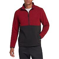 DSG Apparel: Men's Heather Polar Fleece 1/2 Zip Pullover $10, Men's  Polar Fleece Pants $10, Men's Polar Fleece Hoodie $10 + free shipping on $25+
