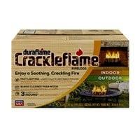 Duraflame Crackleflame 4.5lb 3-Hour Indoor/Outdoor Firelog (4-Pack) $13.99