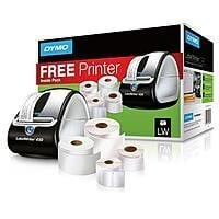 Dymo LabelWriter 450 Thermal Label Printer w/ 4 Rolls
