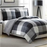 Ellison First Asia Tanner Reversible 3-Piece Comforter Set (Full/Queen) $17.99