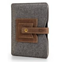 Embossed Leather Tablet Sleeve Now $59.95