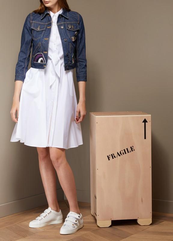*Exclusive* Marc Jacobs Sale: Shrunken Denim Jacket DENIM 60% off