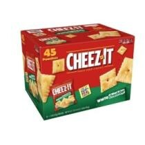 Extra 10% off Cheez-It Baked Snack Crackers, White Cheddar - 45 Pack