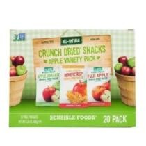 Extra 10% off Sensible Foods Crunch Dried Snacks Apple Variety Pack - 20 Count