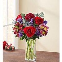 Festive Gathering Mixed Holiday Bouquet - $35.99 + FS