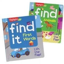 Find It First Words & Animals Board Books - 2 Book Set Now $15.98