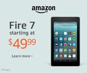Fire 7 Tablet - Starting at $49.99 | Christmas Gifts Idea