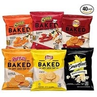 Frito-Lay Baked & Popped Mix Variety Pack (40-Pack) $11.22