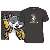 Furrdie Mercury by BoggsNicolas T-Shirt Now $15