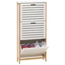 FYN 3 Door Shoe Cabinet Now $99.99