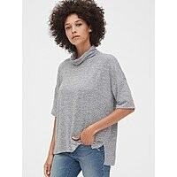 Gap Extra 50% Off + 10% Off Sale: Women's Softspun Turtleneck Top