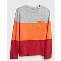 Gap.com: Boys' Colorblock Tee $3.77, Men's Athletic Logo Pocket Tee $6.47, Crewneck Sweatshirt $13.49   Boys', Khaki Joggers $8.09 & More + Free Shipping