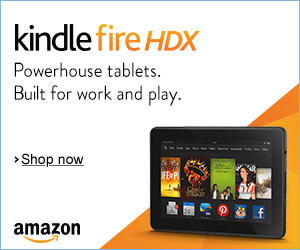 Get the New Kindle Fire HDX Tablet | New Year's Resolutions Deals
