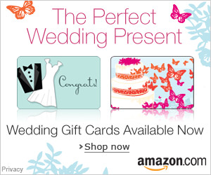 Gift Cards for Weddings | Valentine's Day Deals